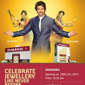 Hrithik Roshan in Ahmedabad for Joyalukkas Jewellers Opening Launching Event