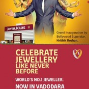 Hrithik Roshan in Vadodara Baroda for Joyalukkas Jewellers Launching Event & Grand Opening