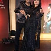 Indian Comedian King Raju Srivastav and Shika Shrivastav at Nach Baliye Season 6 Launching