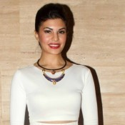 Jacqueline Fernandez in White Short Skirt Photos