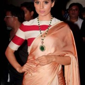 Kangana Ranaut in Sabyasachi Saree at Music Launch of Rajjo