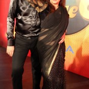 Kanica Maheswari Ghai and Ankur Ghai in Black Dress at Nach Baliye Season 6 Opening