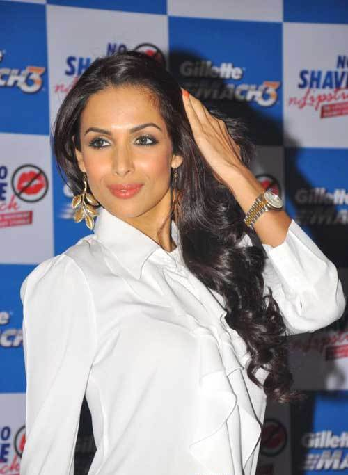 Malaika Arora Khan in White Shirt at No Save No Lipstick Event Hot Photo