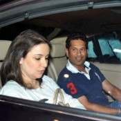 Sachin Tendlukar in Nita Ambani 50th Birthday Party at Jodhpur