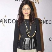 Shamita Shetty Hot Legs Pics In Short Skirt at Chandon Wine Launch