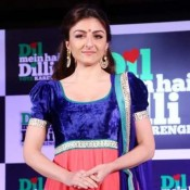 Soha Ali Khan Anarkali Suits Encourages Youth to Participate in Polls New Delhi