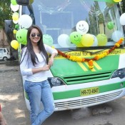 Sonakshi Sinha Launch Mobile Hospital Van in Mumbai