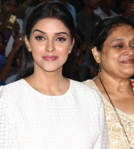 Asin in White Pencil Skirt at All Is Well Trailer Launch Event Photos