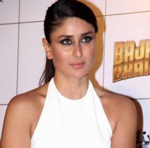 Kareena Kapoor Hot in White One Piece Dress for Bajrangi Bhaijaan Film Trailer Launch