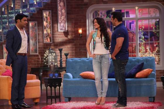 Bajrangi Bhaijaan Movie Promotion Pics at Comedy Nights with Kapil Show