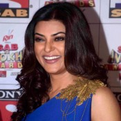Sushmita Sen in Blue Floor Length Gown at Sab Se Anokhe Awards 2015
