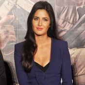 Phantom Movie Trailer Launch Photos – Katrina Kaif in Navy Blue Suit Photos