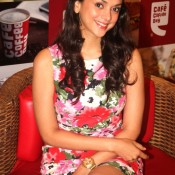 Aditi Rao Hydari At Cafe Coffee Day Event