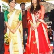 Aishwarya Rai in Red Dress – Traditional Anarkali Suits Churidar Photos