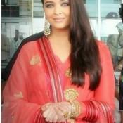 Aishwarya Rai in Ludhiana Punjab for Inauguration of Kalyan Jewellers Showroom