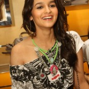 Alia Bhatt at DLF Emporio for Fashions Night Out with Karan Johar Pics