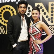 Alia Bhatt and Arjun Kapoor in Ahmedabad for Shooting of 2 STATES Movie