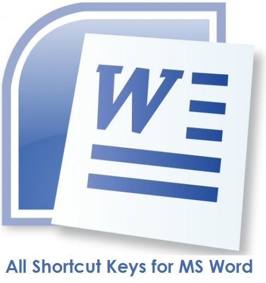 assign shortcut keys word 2007