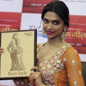Deepika Padukone Launched RAM LEELA Portrait in Ahmedabad Promotional Event Recent Pics