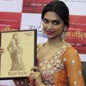 Deepika Padukone Launched RAM LEELA Portrait in Ahmedabad Promotional Event Recent Pics