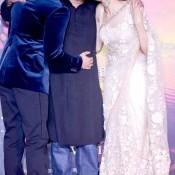 Deepika Padukone Sanjay Leela Bhansali together in Ram Leela Promotion Events