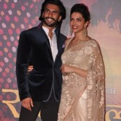 Deepika Padukone and Ranveer Singh at Ram Leela Video Trailer Launch