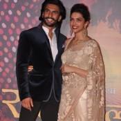 Deepika Padukone and Ranveer Singh at Ram Leela Video Trailer Launch