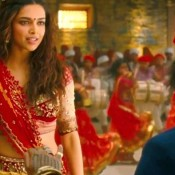 Deepika Padukone in Nagada Sang Dhol Baaje Video Song of Ram Leela Movie