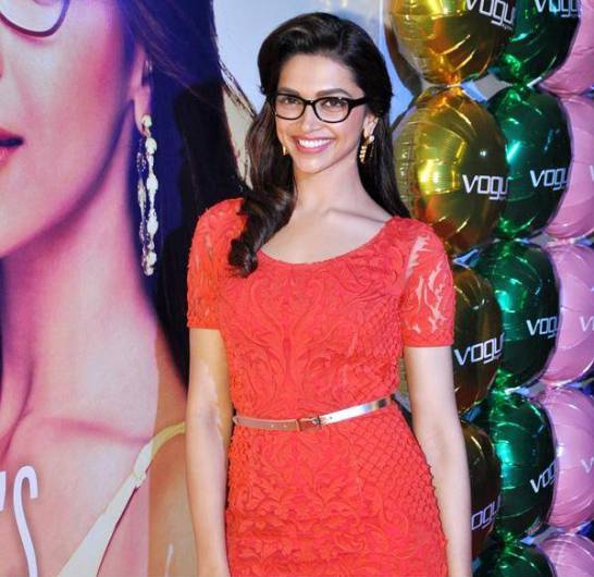 Deepika Padukone in Vogue Eyewear Photoshoot – Deepika Padukone in Glasses Image