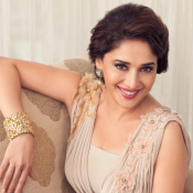 Evergreen Beauty Madhuri Dixit Sweet Smile Face
