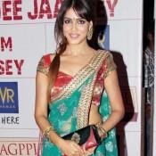 Genelia D'Souza in Transparent Saree – Hot Photo Gallery