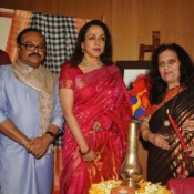 Hema Malini Inauguration Art and Couture Exhibition