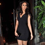 Ileana D'cruz Hot Black Dress at Phata Poster Nikla Hero