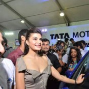 Jacqueline Fernandez at 2013 Auto Car Expo in Bandra Mumbai India