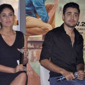 Kareena Kapoor in Black Mini Skirt At Gori Tere Pyar Mein First Look Launch