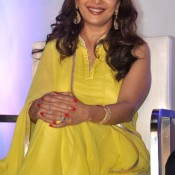 Madhuri Dixit in Yellow Dress – Traditional Anarkali Suits Churidar Photos