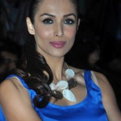 Malaika Arora Hot Blue Gown Photos