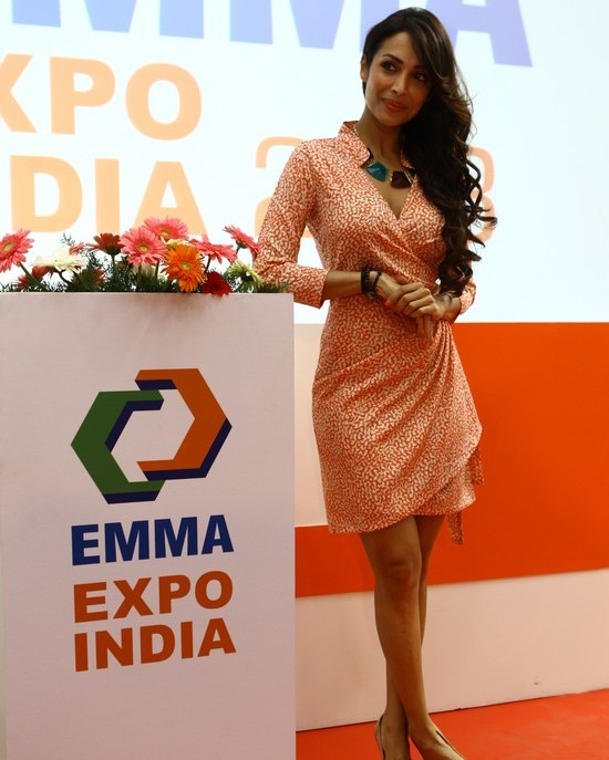 Malaika Arora Khan at EMMA Expo India Inauguration in Chennai