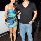 Malaika Arora in Very Short Dress Hot Photos with Arbaaz Khan