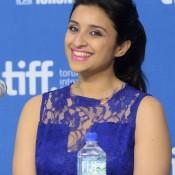 Parineeti Chopra in Blue Gown type Dress Code at TIFF 2013