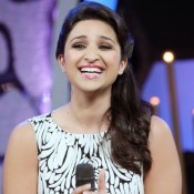Parineeti Chopra in White One Piece Floral Gown – Jumpsuit Look Latest Photos