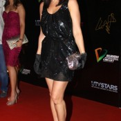 Preity Zinta Black Dress Pics – Hot Photos in Short Black Dress