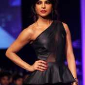 Priyanka Chopra In Lakme Fashion Week (2013)