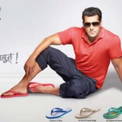 Relaxo Hawaii signs Salman Khan as Brand Ambassador of their New Slipper Footwear Products
