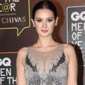 Evelyn Sharma in Backless Gown at GQ Men of The Year Awards 2015
