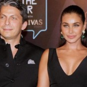 Lisa Ray in Evening Gown at GQ Men Of The Year Awards 2015