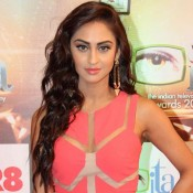 Krystle D'Souza in Pink Gown at Indian Television Academy Awards 2015 Photos