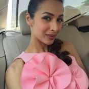 Malaika Arora Khan in Pink One Piece at Breast Cancer Awareness Event