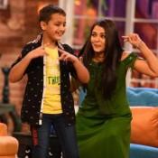 Aishwarya Rai in Comedy Night with Kapil for Jazbaa Promotions Photos