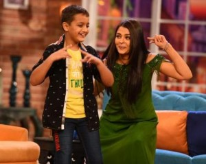 Aishwarya Rai in Comedy Night with Kapil for Jazbaa Promotions Photos
